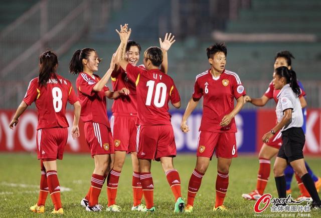 女足亚洲杯-中国7-0泰国开门红 杨丽献大四喜