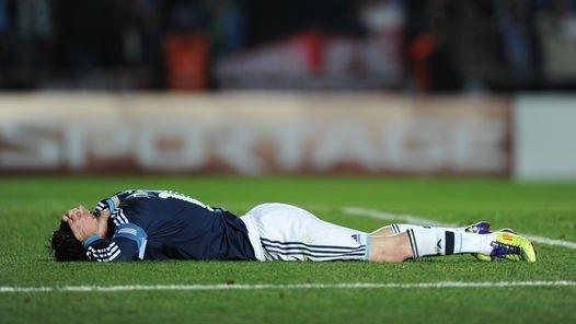 累死梅西也难救阿根廷 他再神也不是哈维+C罗
