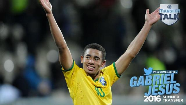 曼城官方宣布签下巴西天才前锋 2700万签5年