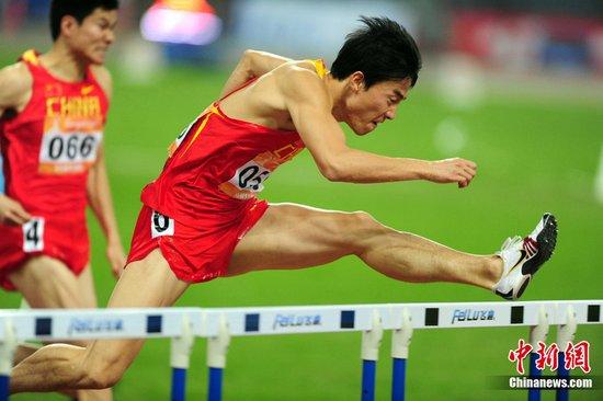 刘翔亚运夺冠后感谢国家 为上海火灾感到心痛