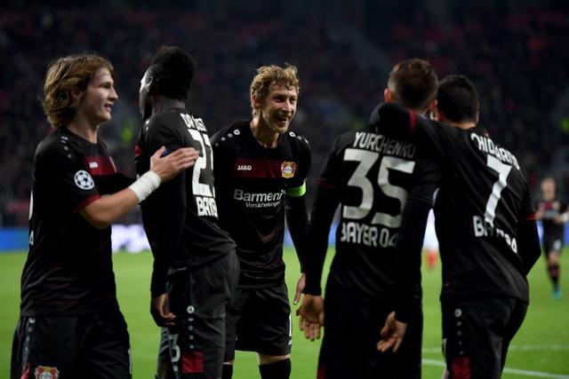 欧冠-勒沃库森3-0胜摩纳哥 布兰特破门创纪录