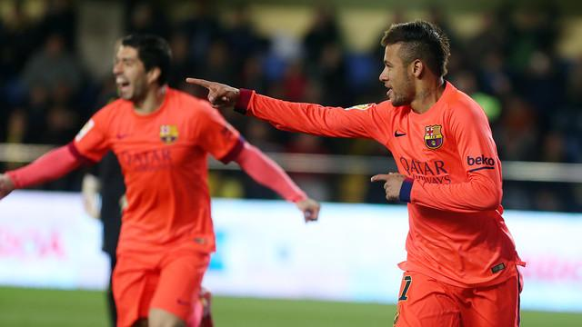 Villarreal VS Barcelona: King's Cup final cut(1-3)