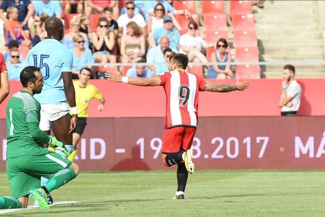 友谊赛-曼城0-1赫罗纳 京多安伤缺8个月首秀