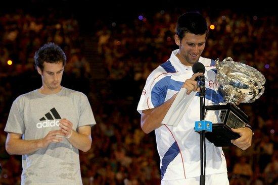 小德夺冠后感谢国家和人民 穆雷称明年再争冠