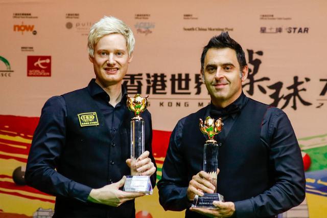 斯诺克香港大师赛罗伯逊6-3胜奥沙利文夺冠