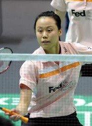 中国羽毛球名将赵芸蕾