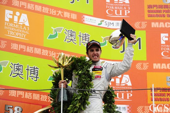 格兰披治赛真卡迪拿夺F3冠军 维特曼功亏一篑