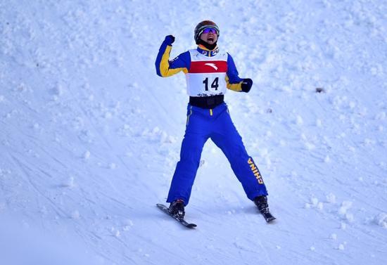自由式滑雪空中技巧世锦赛 中国队六人进决赛