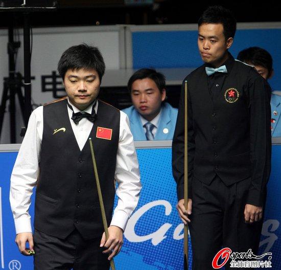 丁俊晖遭逆转惜败傅家俊 无缘亚运男单三连冠