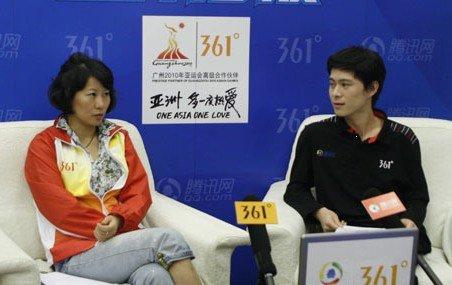 实录:李菊评女乒决赛称胜在气势 两人超水平