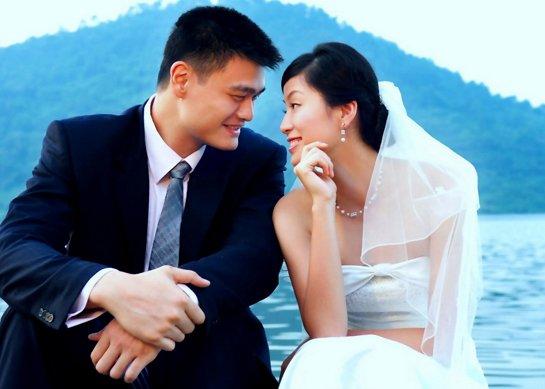 姚明与叶莉夫妻组合是篮球界中最著名的