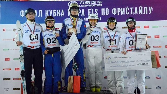 自由式滑雪世界杯 徐梦桃齐广璞勇夺年终冠军