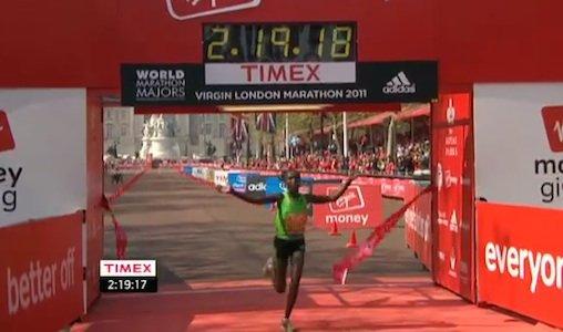 伦敦马拉松肯尼亚揽男女冠军 朱晓琳位列第14
