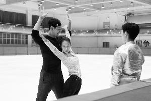 现代舞老师指导中国花滑队 培养选手艺术修为