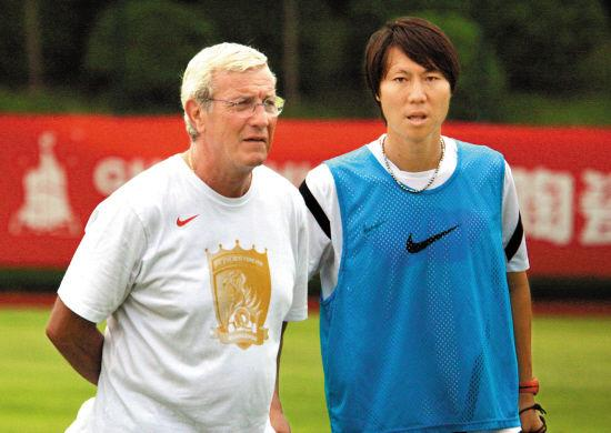 China coach marcello lippi in the team's own team or from the list
