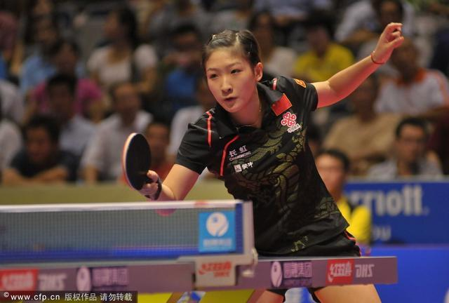 国际乒联排名马龙刘诗雯居首 国乒整体实力强