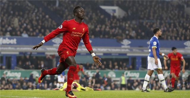 英超-马内补时绝杀 利物浦德比战1-0距榜首6分