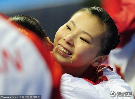 全运会记者手记 车莉:告别的时刻 眼泪横飞