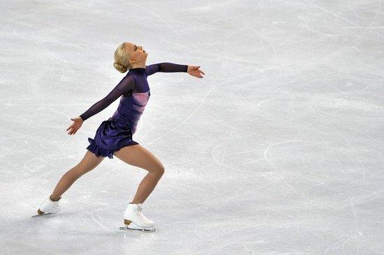 法国站女单自由滑 芬兰美女夺大奖赛个人首冠