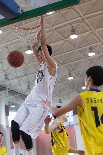 全国初高中篮球联赛 清华附中夺北区双料冠军