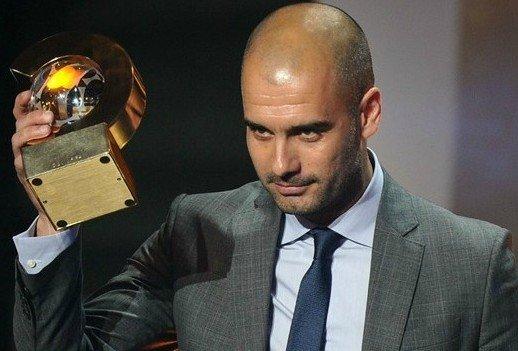 瓜迪奥拉荣膺最佳教练 巴萨荣誉盛典无与伦比