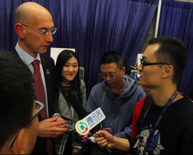 独家专访NBA总裁:腾讯令我印象深刻 还会来华