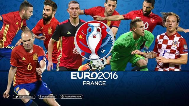 欧洲杯巴萨球员表现一览