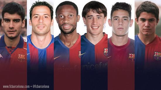 Barcelona Roman origin from the bottom two teams of six players has played