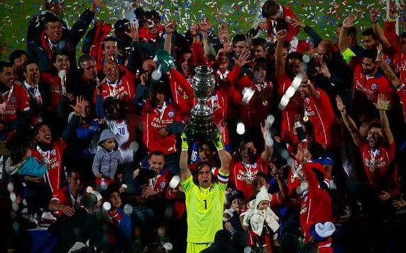 99年等待!智利黄金一代破60年魔咒夺美洲杯