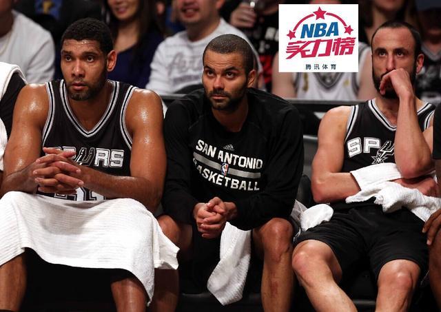 腾讯NBA实力榜:马刺力压勇士升首位 骑士仍第3