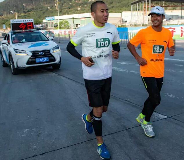 于嘉:陈盆滨不是阿甘 跑步就是他的命