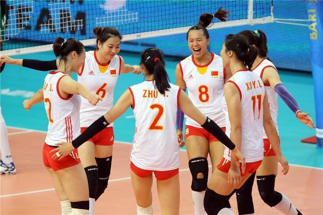 郎平坐镇女排3-0胜阿塞拜疆 世锦赛取两连胜