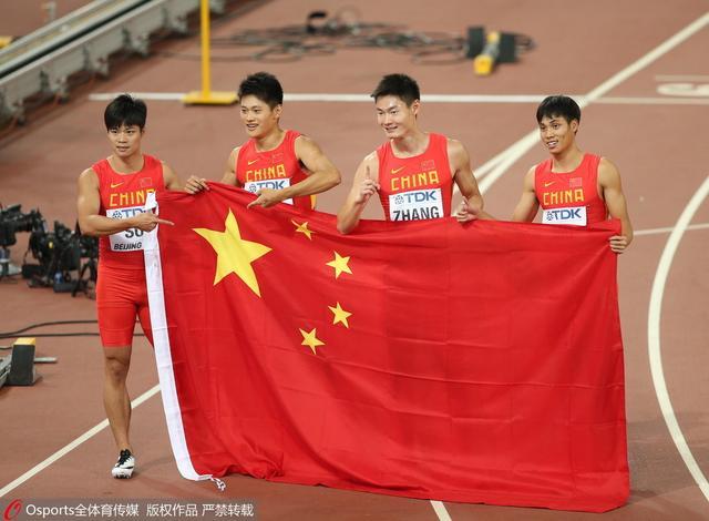 9道奇迹!男子百米接力中国首摘银 牙买加夺冠