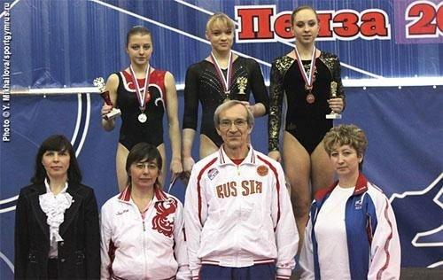 2011年俄罗斯体操锦标赛 老将出色新秀露头角