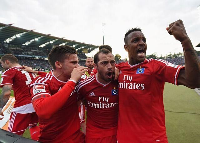 附加赛-汉堡总分3-2保级 德甲不死鸟延续神话