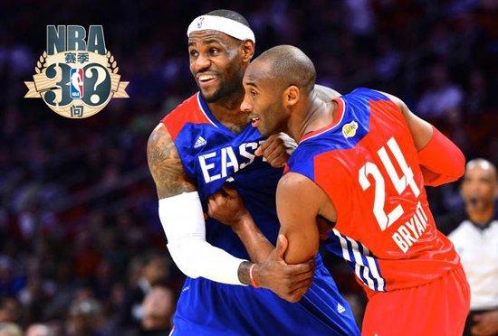 【NBA赛季30问】詹皇无法超越科比的是什么?