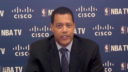 NBA前副总裁失业当解说 曾以给球员开罚单出名