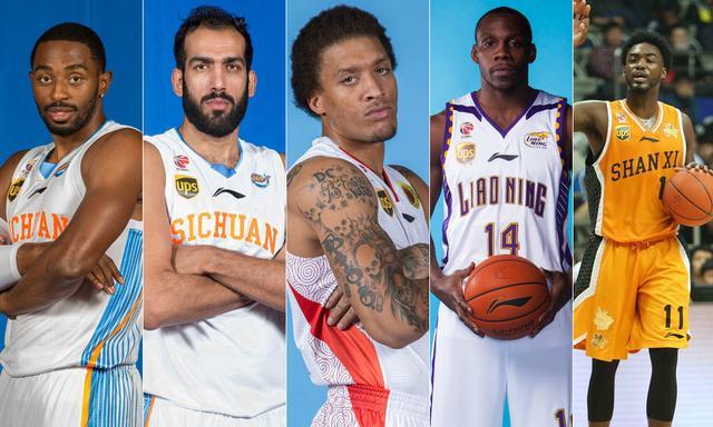 外援最佳阵容:前NBA榜眼领衔 神人场均三双