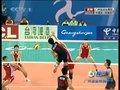 视频:男排1/4决赛 梁春龙连续拦网震慑对手
