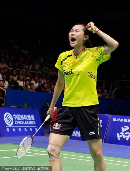 亚锦赛王仪涵2-0卢兰首封后 中国女单取5连冠