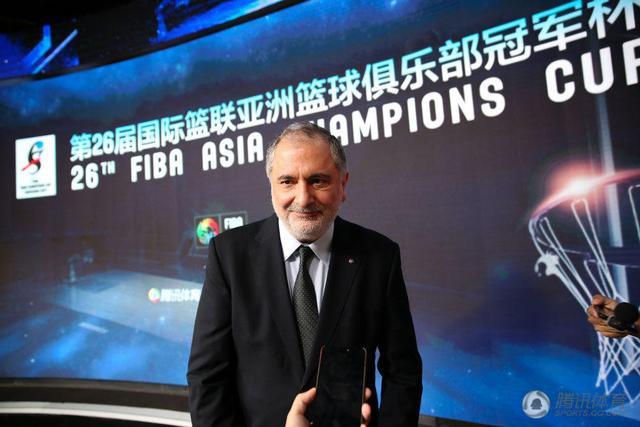 亚篮联秘书长:与腾讯合作很幸运 将提升赛事