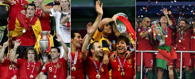欧洲杯的大航海时代!他们连续3届统治欧洲杯