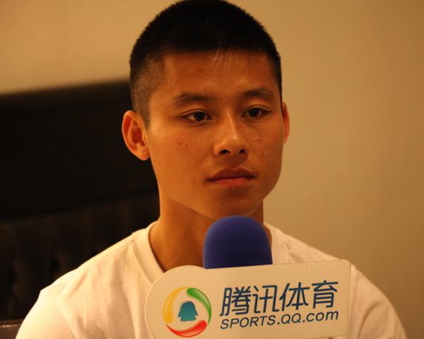 专访陈志钊:球迷都能认出我 还想在外漂几年截图