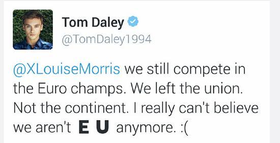 火箭直言脱欧就是闹剧 戴利遗憾与欧盟划界限