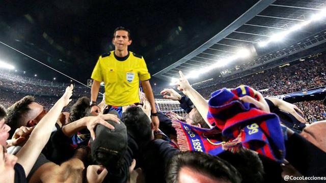 曝欧冠争议主裁执法爆粗口 多次辱骂巴黎球员