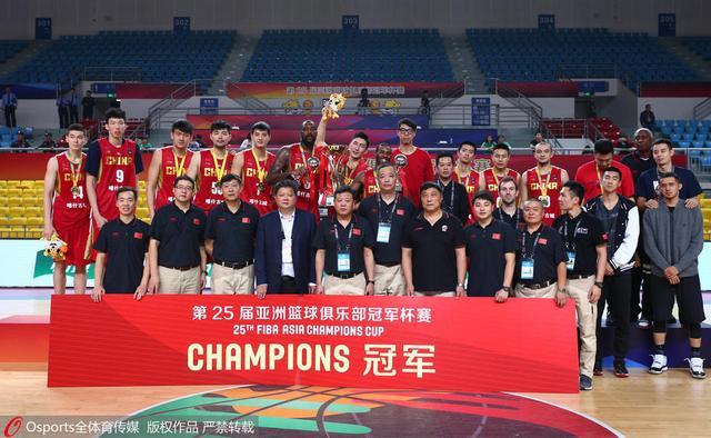FIBA评新疆登顶亚冠:证中国在亚洲统治依旧