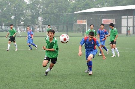 北京长城杯青少年足球赛 国安青年5-0菲律宾