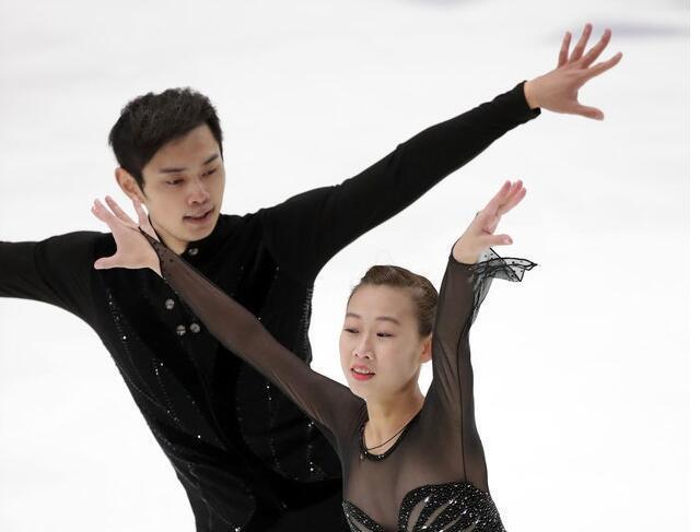 彭程/金杨芬兰杯折桂 自由滑演绎经典《梁祝》