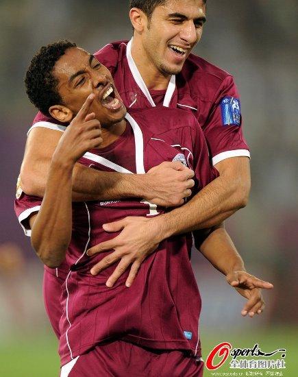 亚洲杯-卡塔尔3-0击溃科威特 东道主晋级8强
