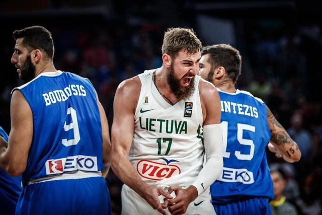 欧洲杯:希腊爆冷淘汰立陶宛 瓦兰13+15难救主